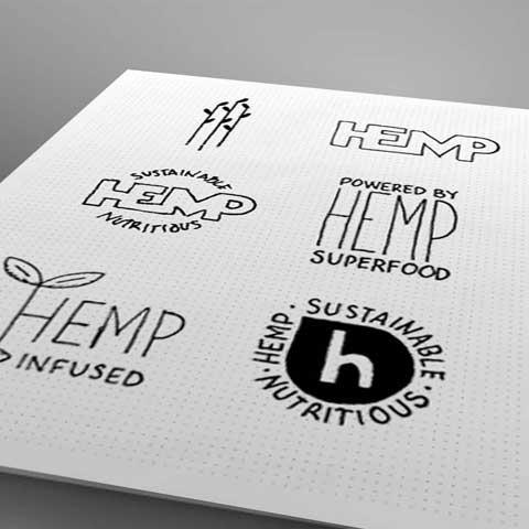 hemp callout sketches